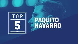 #Top5 Puntazos Paquito Navarro 2019 - World Padel Tour