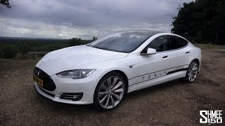 Tesla Model S P85D - Test Drive, In-Depth Tour and Impressions