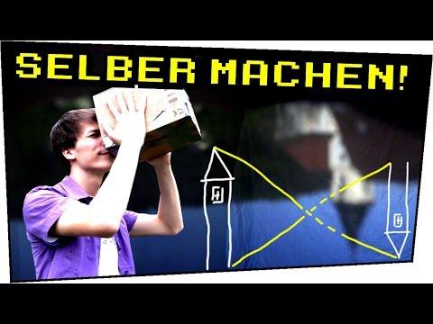 Gut bekannt Lochkamera aus Pappkarton bauen! Camera Obscura selber machen CY38