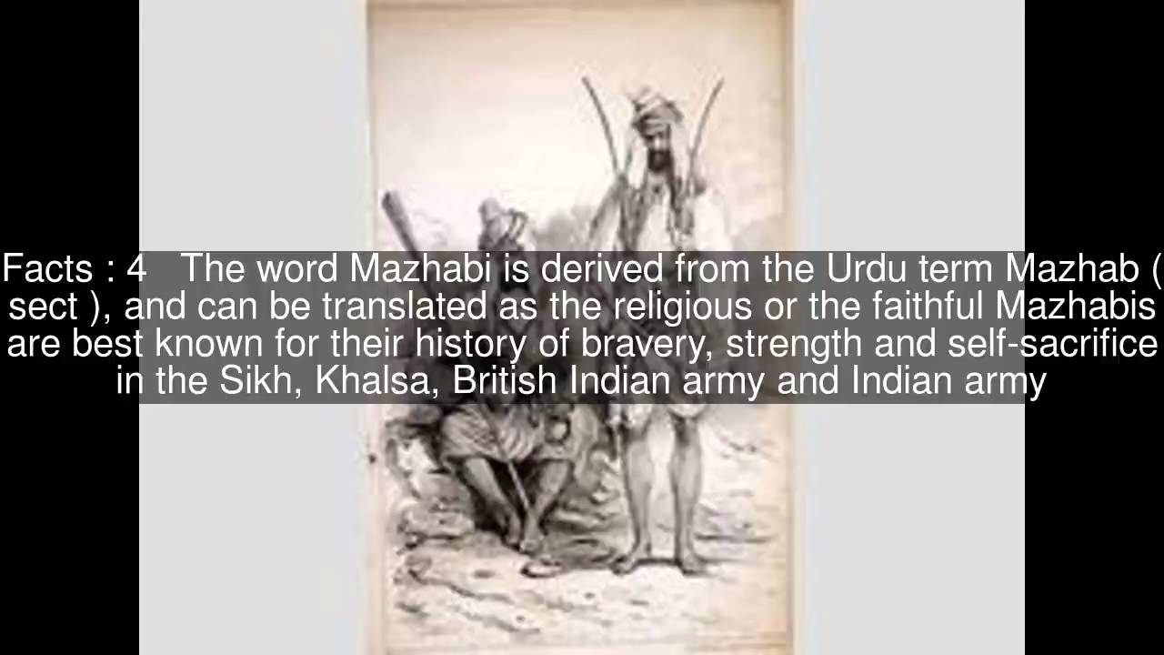 Mazhabi Sikh Top #7 Facts - YouTube