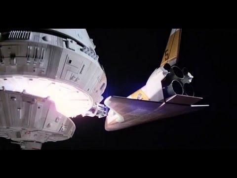 Interstellar docking scene music mashed up with Moonraker docking scene