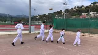 Taekwondo Entraînement à l'extérieur