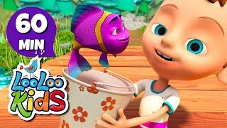 Once I Caught a Fish Alive - Fun Songs for Children | LooLoo Kids