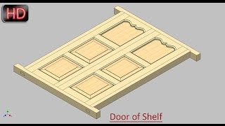 Door of Shelf (Video Tutorial) Autodesk Inventor