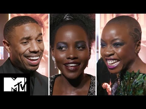 How Well Do The BLACK PANTHER Cast Really Know Each Other? | MTV Movies