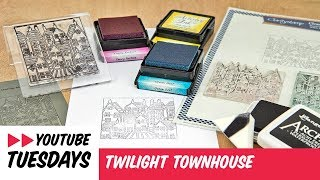 Stamping How To - Twilight Townhouse