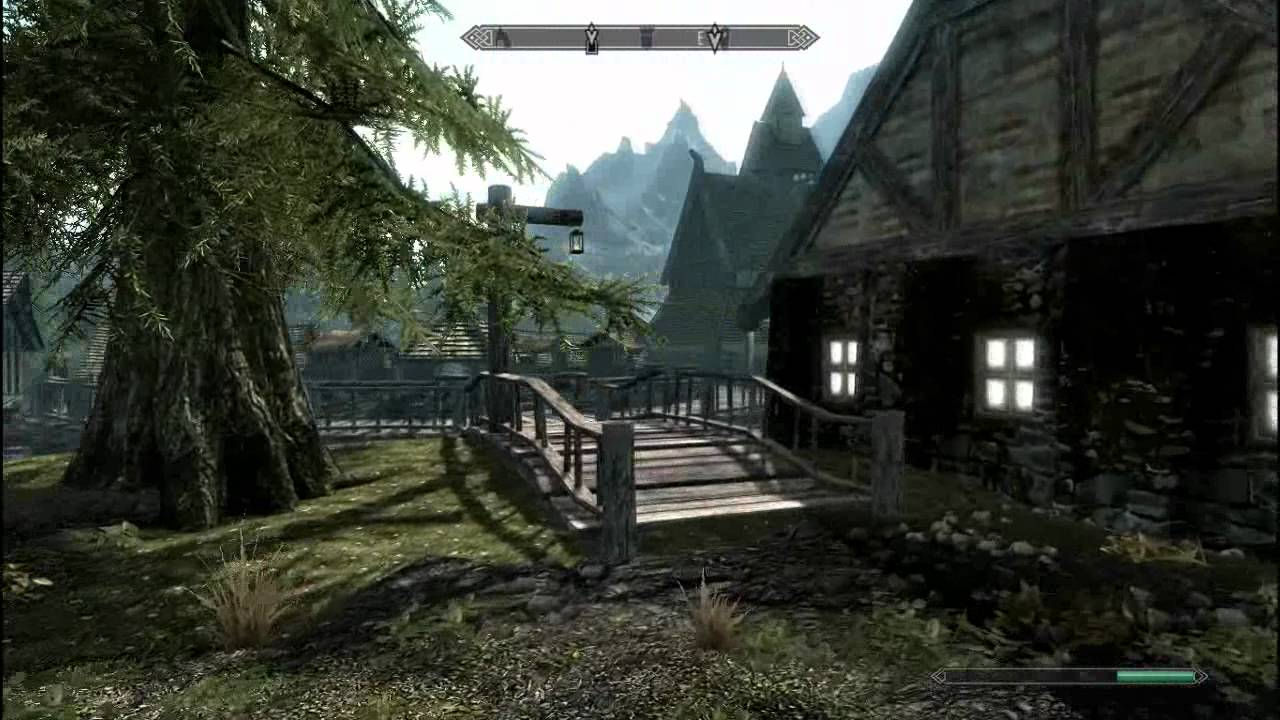 how to make vampire stop attacking village skyrim