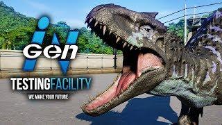 HYBRID CONTAINMENT CHAMBERS!! | InGen Testing Facility (Jurassic World: Evolution)