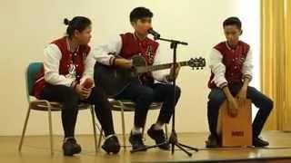Ello,Ipang,Berry St Loco feat Lala - Buka Semangat Baru (cover) live performance