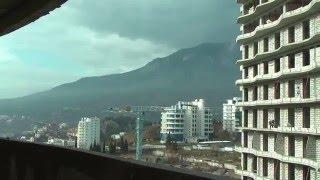 Гурзуф Ривьера апартамент 60 ,обзорный вид из окна