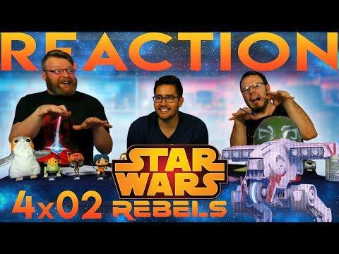 "Star Wars Rebels 4x2 REACTION!! ""Heroes of Mandalore Part 2"""