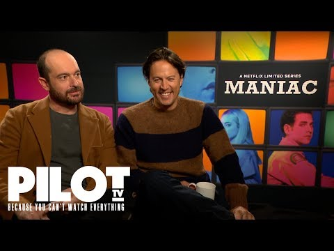 'Maniac' Netflix Preview with Justin Theroux, Patrick Somerville and Cary Joji Fukunaga  | Pilot TV