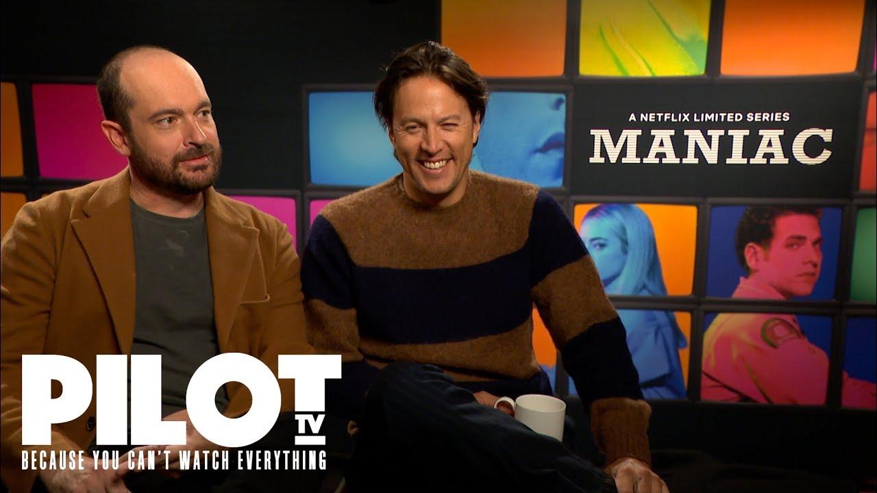 'Maniac' Netflix Preview with Justin Theroux, Patrick Somerville and Cary  Joji Fukunaga   Pilot TV
