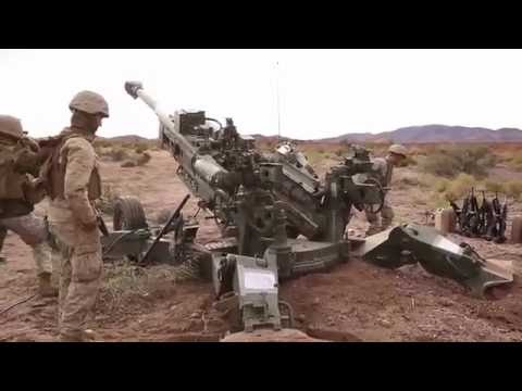 U.S. Marine Corps Artillery Fire Support in Afghanistan