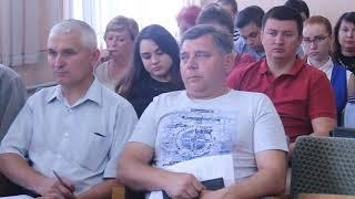 Аппаратное совещание в администрации города Горловка 30.07.2019