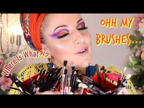 how-i-organize-my-makeup-brushes-😍