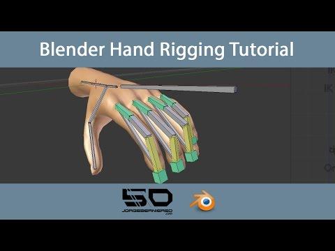 Blender Hand Rigging Tutorial