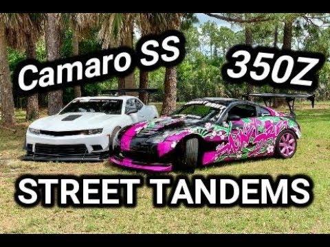 350Z & Camaro SS Street Drifting