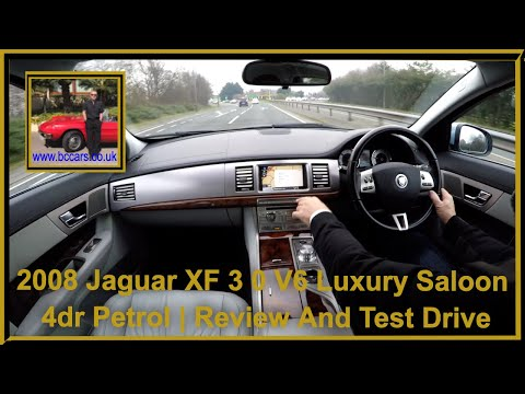 Virtual Video Test Drive In Our Jaguar XF 3 0 V6 Luxury Saloon 4dr Petrol