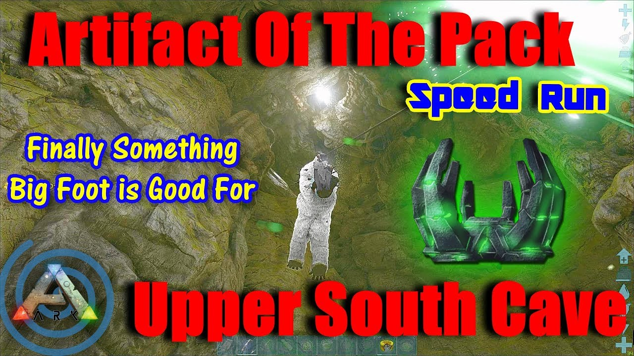 Artifact of the Pack - The Island: Upper South Cave, Megapithecus Caving