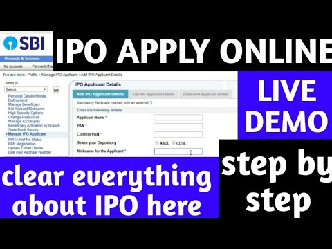 What is IPO | How to buy IPO Online - Step-by-step ipo process - LIVE DEMO - IPO में कैसे निवेश करे