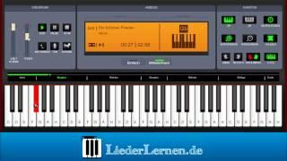 Nicole - Ein bißchen Frieden - Klavier lernen - Musiknoten - Akkorde
