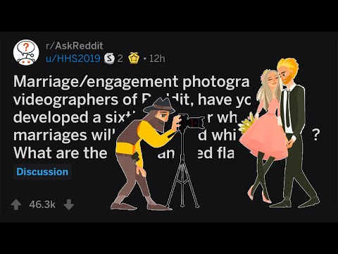 Wedding Photographers Share Signs Of A Divorce Before Marriage