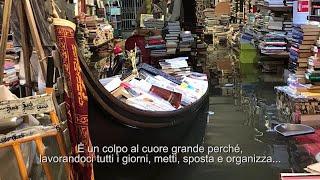 Venezia, allagata storica libreria