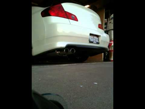 G35 sedan Motordyne ART pipes