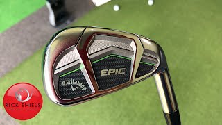 NEW CALLAWAY EPIC IRONS REVIEW - Rick Shiels