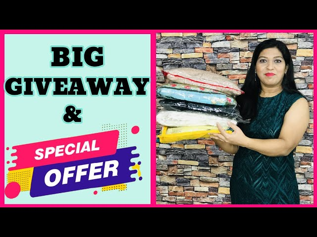 *GIVEAWAY* 15000/- Rs Cloths Big Giveaway from PRITITRENDZ #prititrendzgiveaway #clothsgiveaway