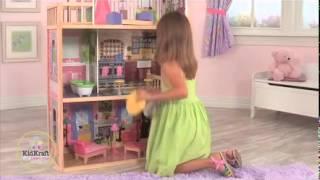 видео Кукольный домик KidKraft Кайла