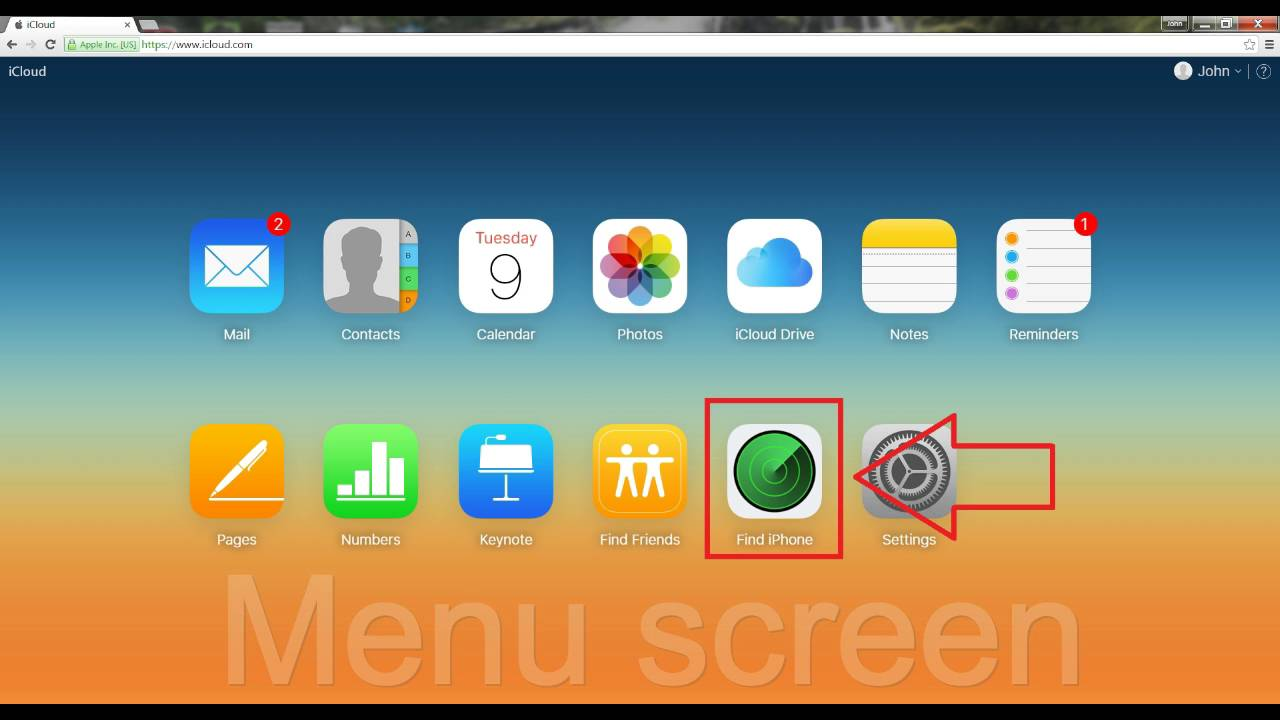 How to Find my iPhone using my PC - YouTube