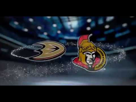 ANAHEIM DUCKS vs OTTAWA SENATORS (Dec 22)