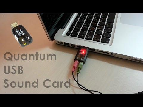 DRIVERS: QUANTUM QHM623 USB SOUND CARD