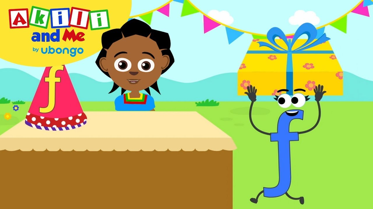Learn Letter F! | The Alphabet with Akili | Cartoons for Preschoolers