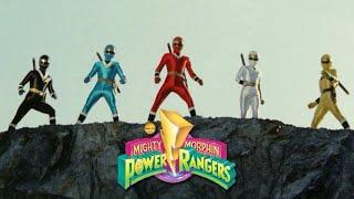 Mighty Morphin Power Rangers Season 3 Alternate Opening | Kakuranger