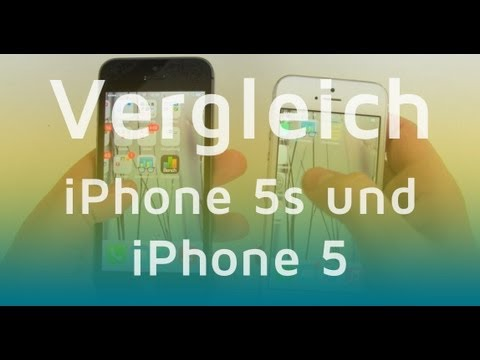 iPhone 5S vs  iPhone 5 - Vergleich der Apple Smartphones (Deutsch)