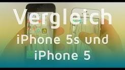iPhone 5S vs  iPhone 5 - Vergleich der Apple Smartphones (Deutsch)