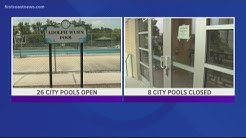 Nearly a quarter of Jacksonville's public pools are closed as summer nears