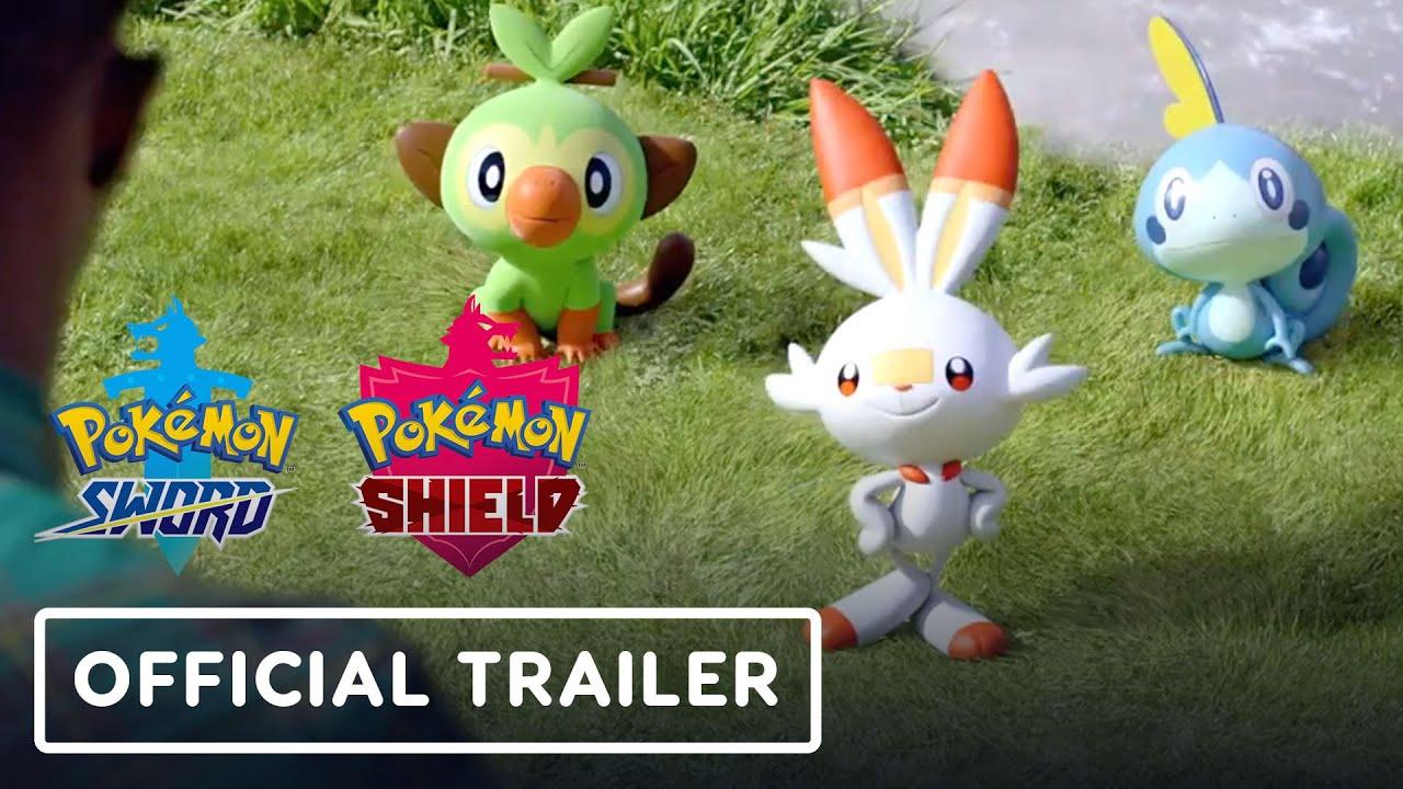 Pokemon Sword e Pokemon Shield - Trailer Oficial de Lançamento + vídeo