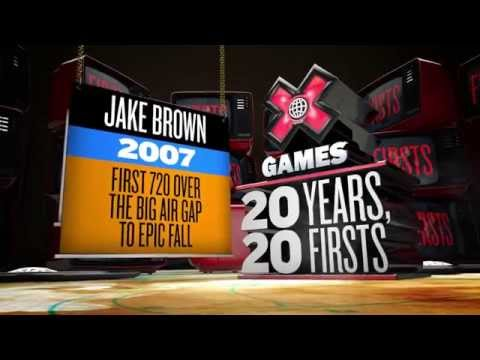 20 Years, 20 Firsts: Jake Brown - ESPN X Games