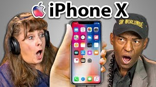 failzoom.com - ELDERS REACT TO iPhone X and 8