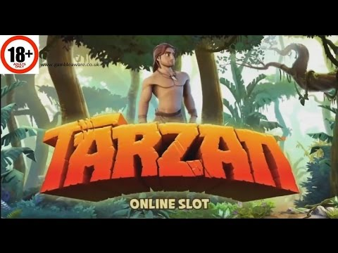 Tarzan Slot | ALL FEATURES + BIG WIN | Microgaming