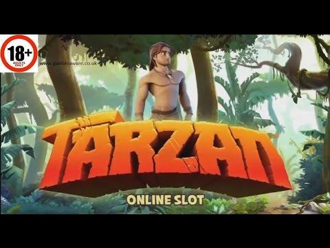 Tarzan slot | ALL FEATURES + BIG WIN | Microgaming
