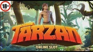 Tarzan slot ALL FEATURES BIG WIN Microgaming