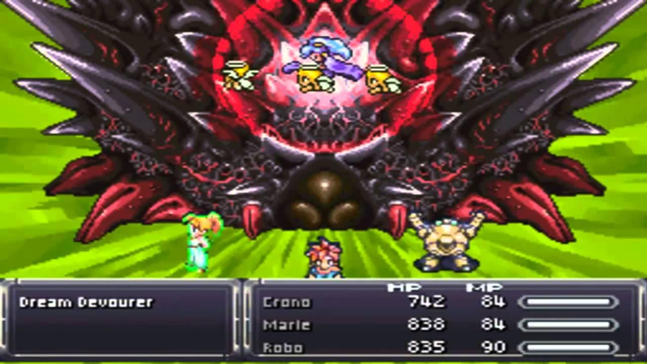Chrono Trigger (NDS): [Extra] Final Boss (Dream Devourer) - YouTube