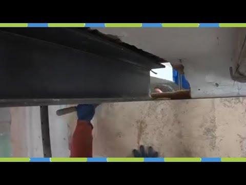 Stahlträger ersetzen Umbau Teil 2 Stahlträger in die Wand integrieren