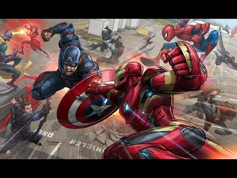 Captain America Civil War (War Of Change) Music Video