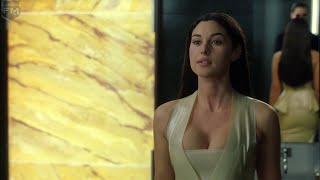 Keanu Reeves kissing Monica Bellucci | The Matrix Reloaded [IMAX]